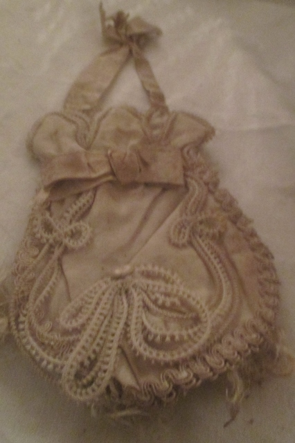xxM976M exceptionally rare georgian bridal purse! all original x