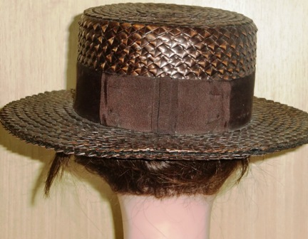xxM65M Straw hat from 1905