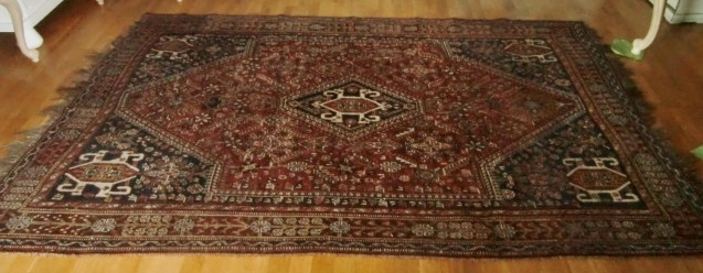 M892m Nr 3 Hand-knotted Oriental rug