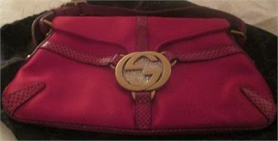 c3292e54c05 xxM977M Gucci Red Satin Evening Bag   Gucci Buckle