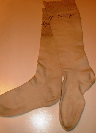 xxM457M Early Victorian Stockings