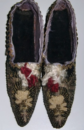 M342M Nice French shoes 1790-1800