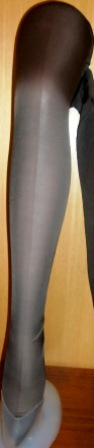 xxM268M 1920-30 Gray Silk Stockings