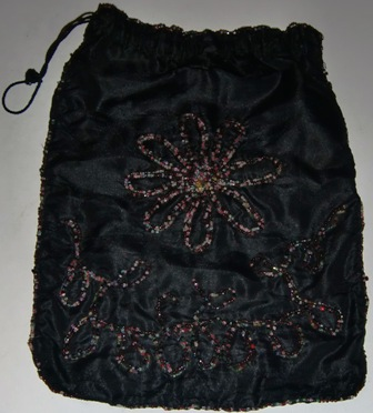 xxM311M Black Georgian purse x