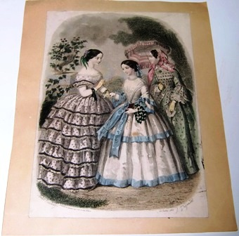 M212M Hand-Colored Print 1860s