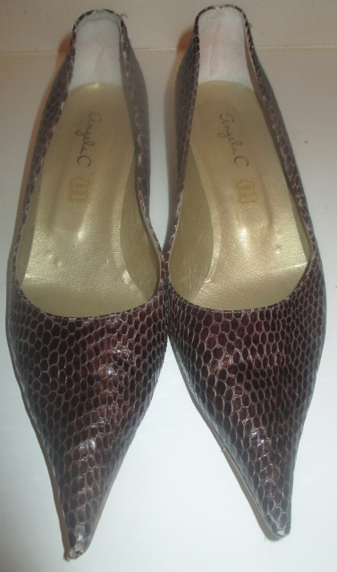 xx M1023M Snake skin shoes